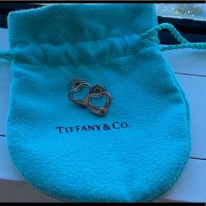 Tiffany & Co. Elsa Peretti Open Heart Studs